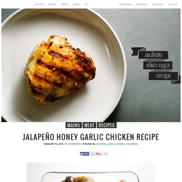 Jalapeño Honey Garlic Chicken Recipe · i am a food blog i am a food blog