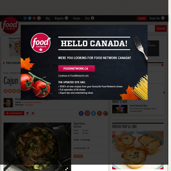 Cajun Jambalaya Recipe : Emeril Lagasse