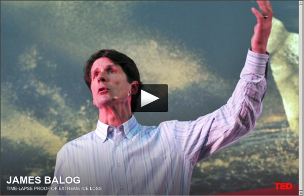 James Balog: Time-lapse proof of extreme ice loss
