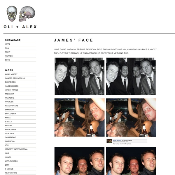JAMES FACE - OLI + ALEX