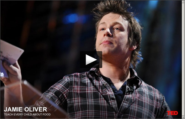 Jamie Oliver's TED Prize wish: Teach every child about food