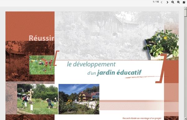 Développement d'un jardin pédagogique