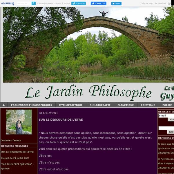 Le jardin philosophique