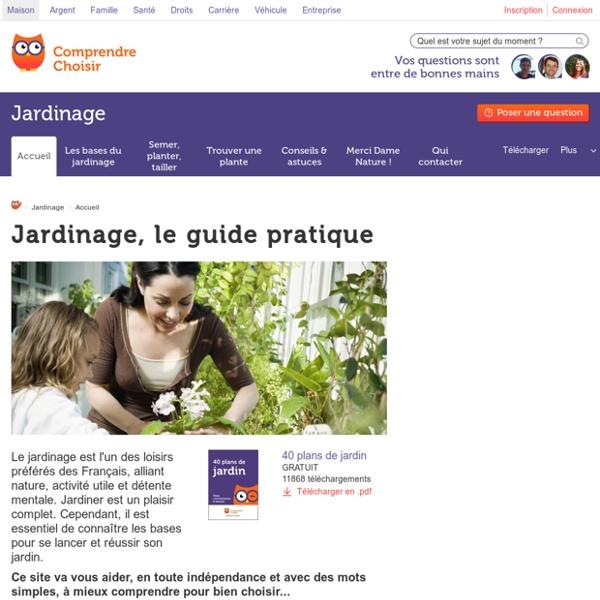 Jardinage - ComprendreChoisir