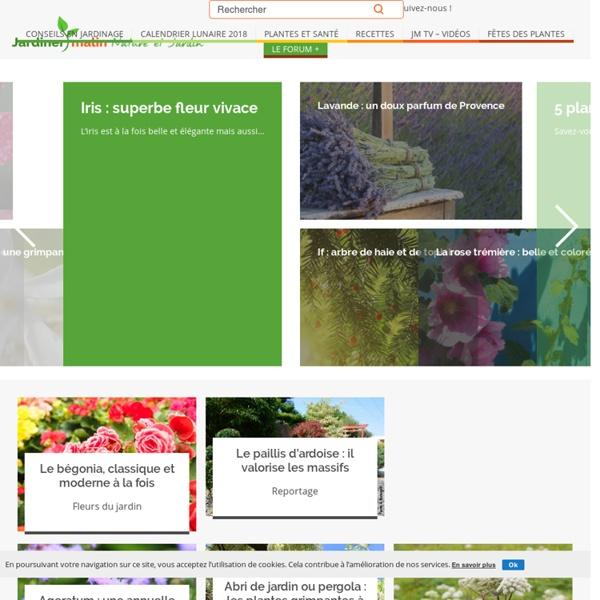 Jardiner Malin, conseils en jardinage
