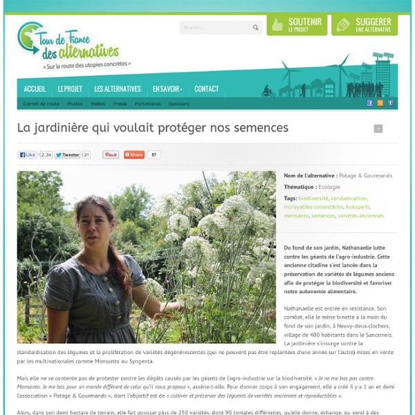 La jardinière qui voulait protéger nos semences