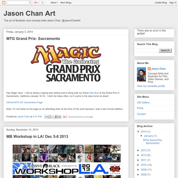Jason Chan Art