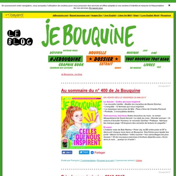 Le site du magazine Je Bouquine