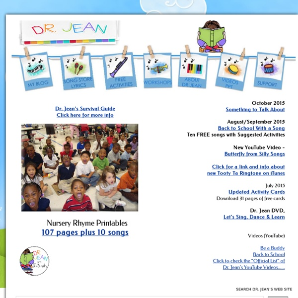 Dr. Jean - Songs and Activities for Young Children