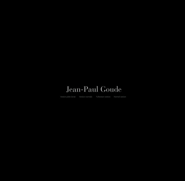 Jean-Paul Goude