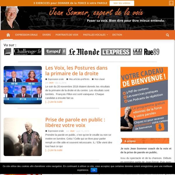 Jean Sommer : Coach Vocal, Expert de la Voix