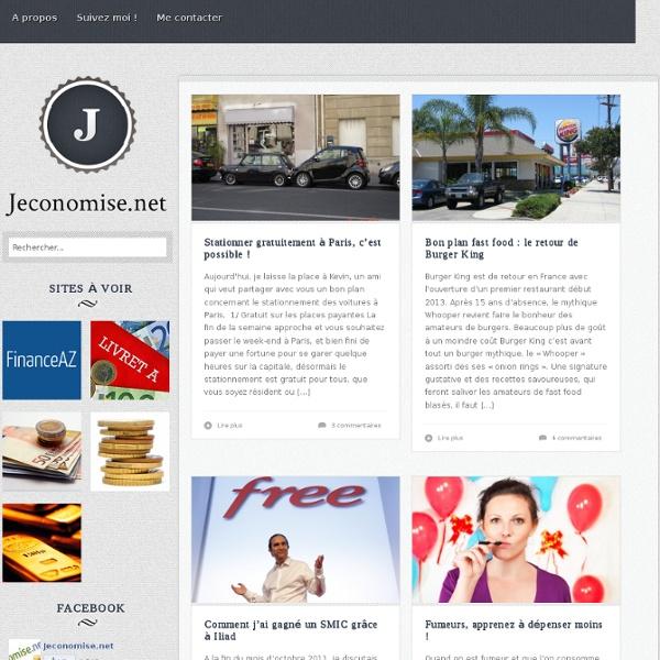 Jeconomise.net : Astuces pour faire des economies et Bons plans