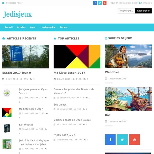 Jedisjeux : le site communautaire des jeux de société