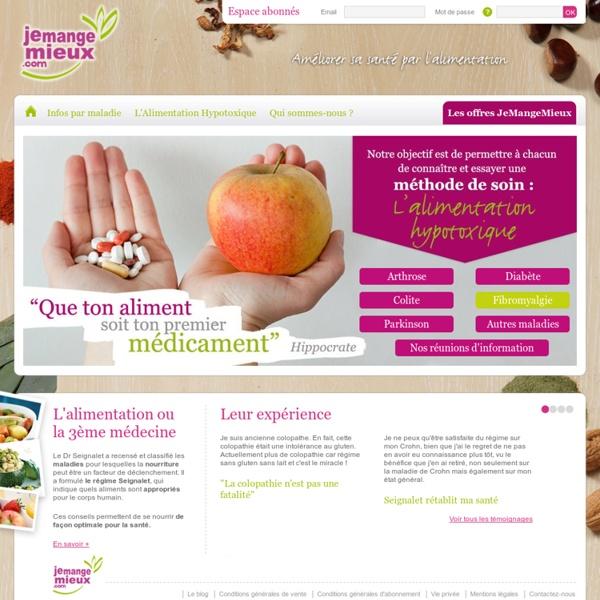 JeMangeMieux.com