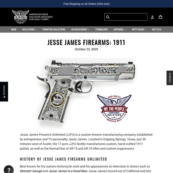 Jesse James Firearms: 1911