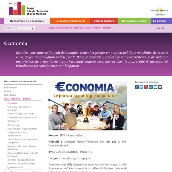 Jeu - Economia