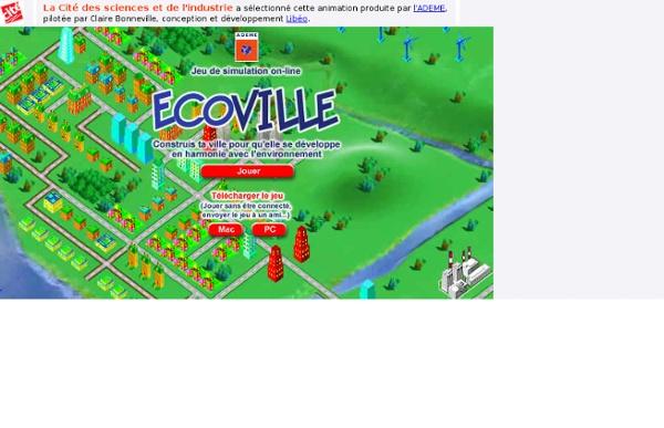 Jeu Ecoville