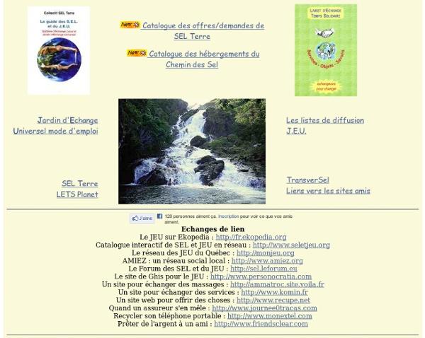 JEU Jardin d'Echange Universel J.E.U.