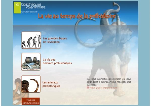 Jeu de piste : la préhistoire