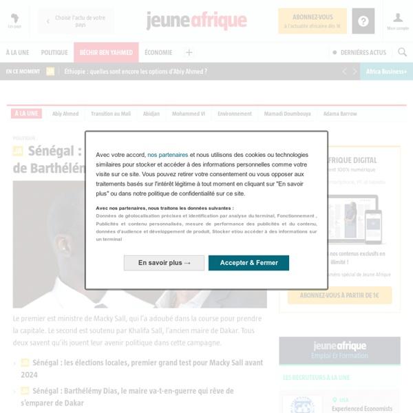 Jeuneafrique.com - le premier site d'information et d'actualité sur l'Afrique