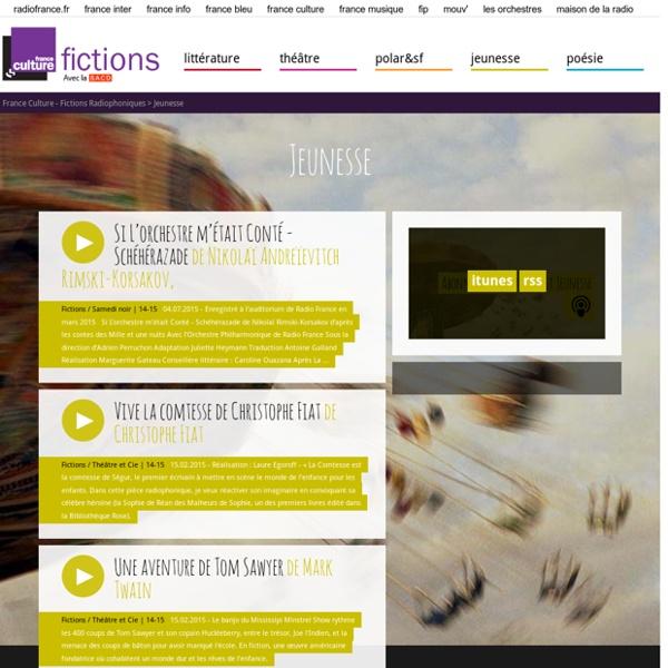 Jeunesse - Fictions radio de France Culture
