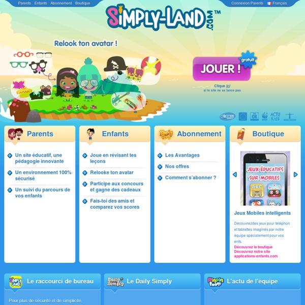Jeux éducatifs pour les enfants de 5 à 11 ans