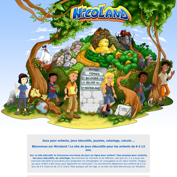 Jeux pour enfants : jeux éducatifs en ligne