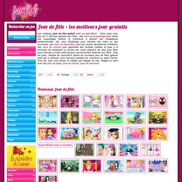 Jeux de fille et jeux pour filles sur jeux pearltrees - Habiller des filles gratuit ...