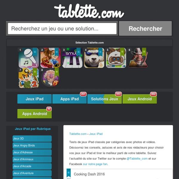Jeux iPad