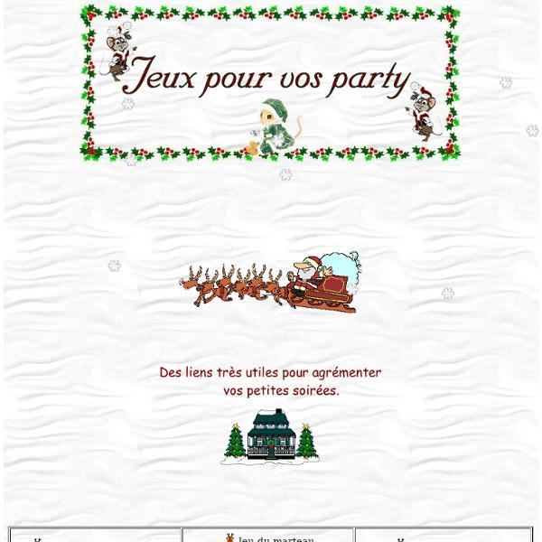 Jeux pour vos party - Jeux interactifs pour Noël