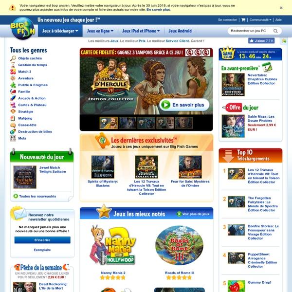 Jeux PC > Téléchargement gratuit en français