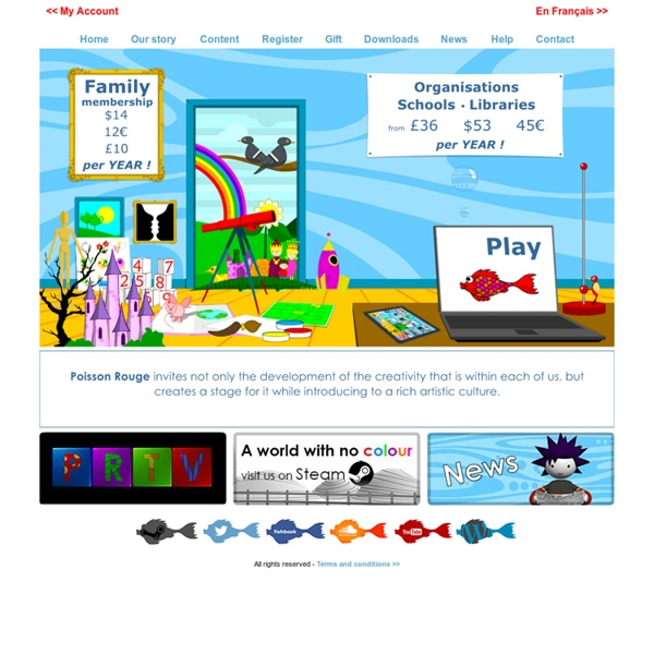 Poisson Rouge . Red Fish Soup . Games for Children . Jeux pour Enfants