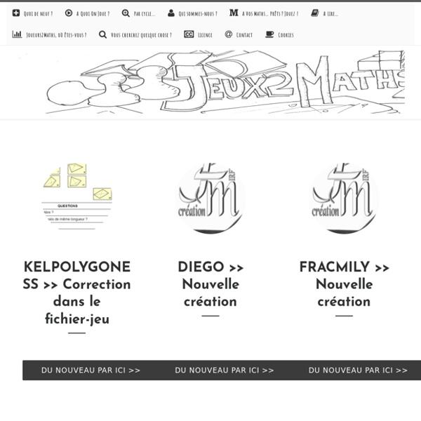 Jeux2Maths – Le site du groupe J2M de l'IREM Caen-Normandie