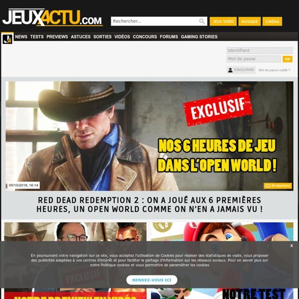 JEUXACTU : toute l'actualité du jeu vidéo