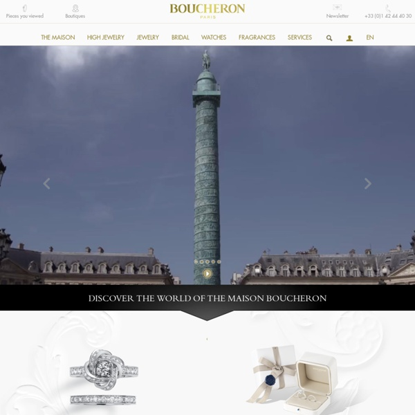 Fine jewelry, luxury watches & perfumes - Boucheron