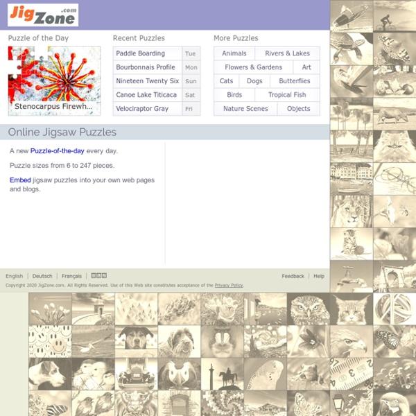 JigZone.com Jigsaw Puzzle Games