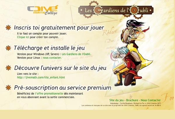 JiVé Math Collège - 4e - Les Gardiens de L'Oubli
