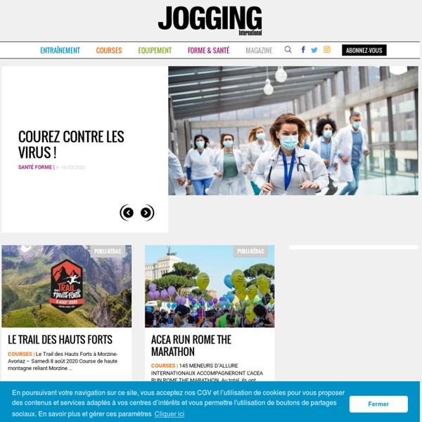 Jogging International - course à pied, courir, marathon