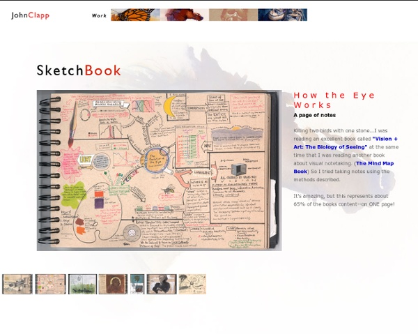 John Clapp's Sketchbook