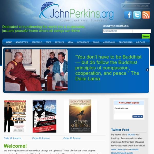 John Perkins Official Web Site