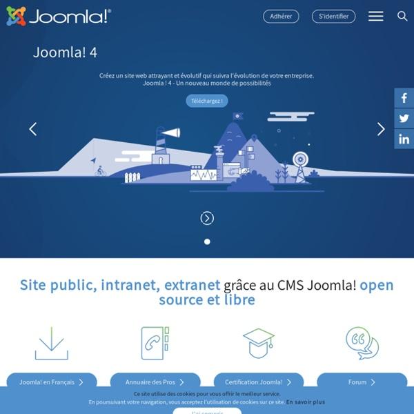 Joomla.fr - Joomla!fr Le portail des Utilisateurs Francophone de Joomla