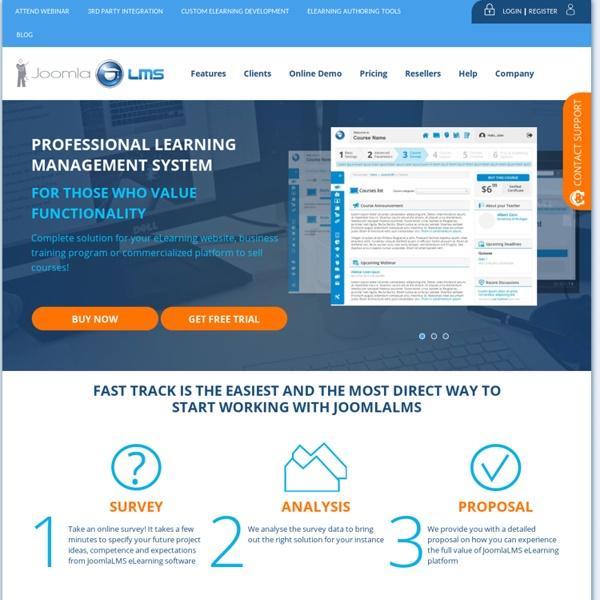 JoomlaLMS - Learning Management System (LMS)