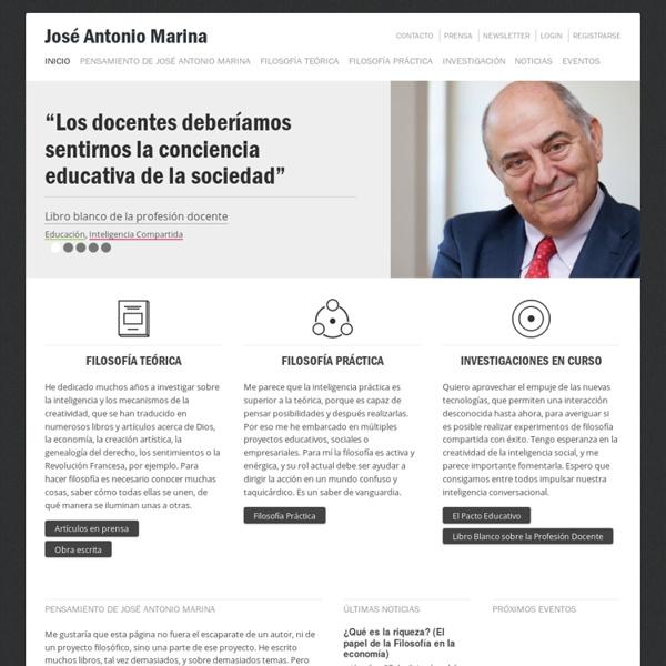 José Antonio Marina – Web oficial