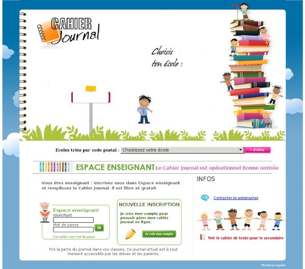 Cahier journal enseignant gratuit libre pearltrees - Office gratuit enseignant ...