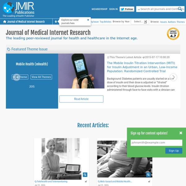 JMIR-Journal of Medical Internet Research