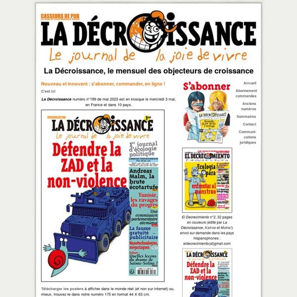 Journal La Décroissance