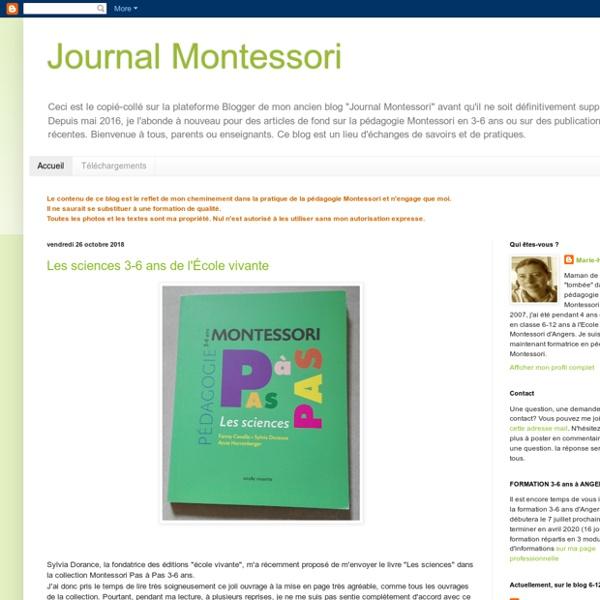 Journal Montessori