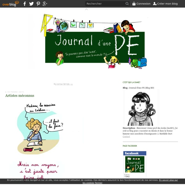 Journal d'une PE (Blog BD)