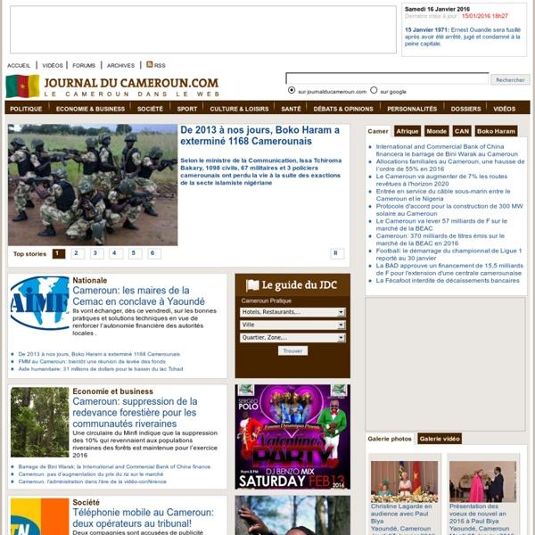 Journal du Cameroun.com