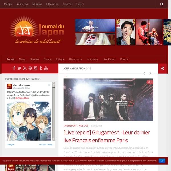 Journaldujapon - Le webzine du soleil levant
